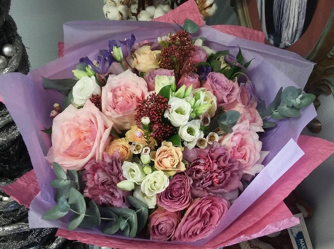 букеты цветов фото красивые креативные комментарий для фотографии